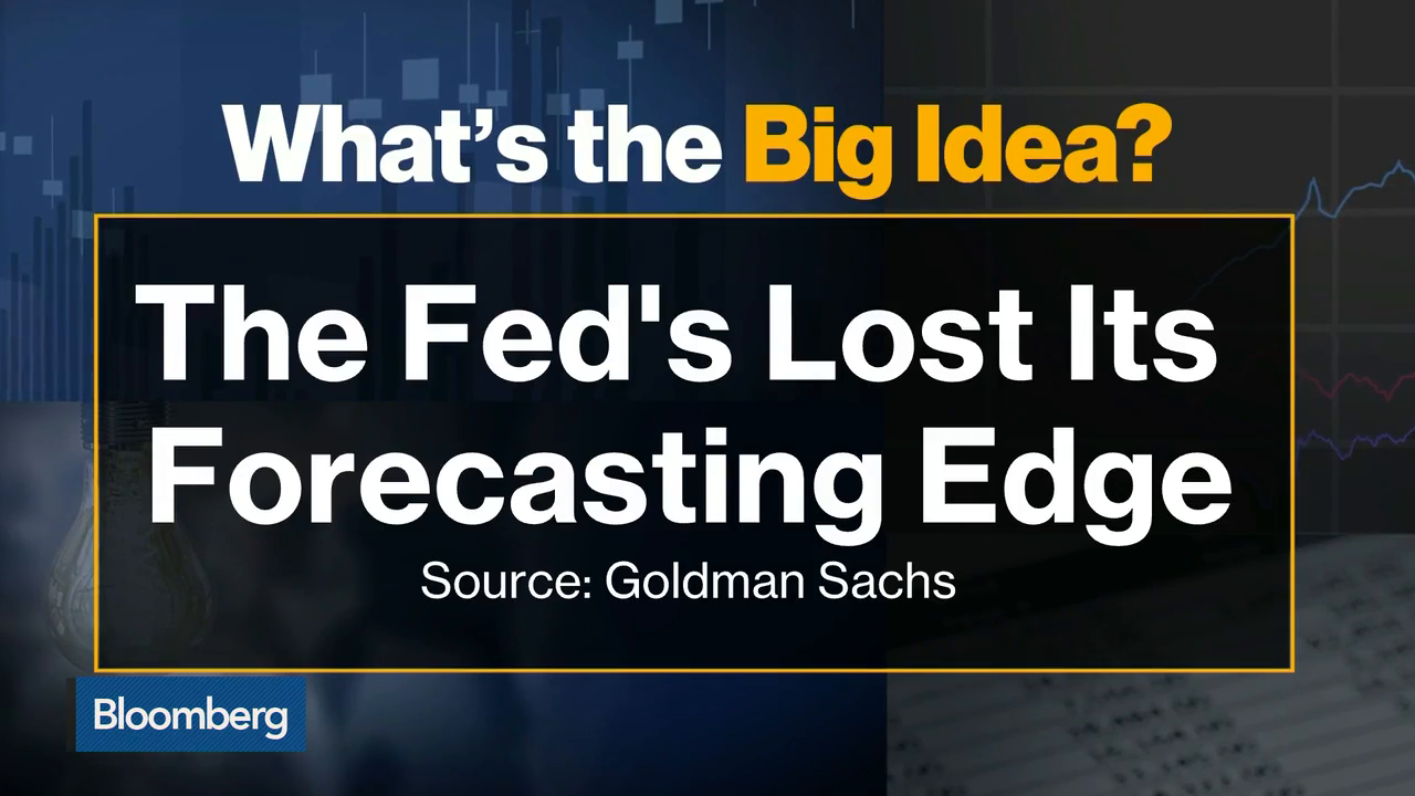 What's The Big Idea? The Fed's Lost Its Forecasting Edge