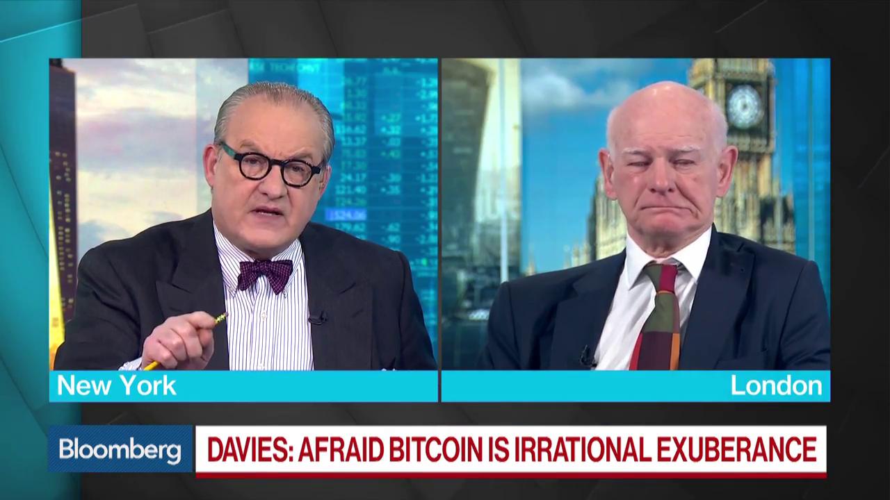 RBS's Davies Says Bitcoin Is 'Irrational Exuberance'