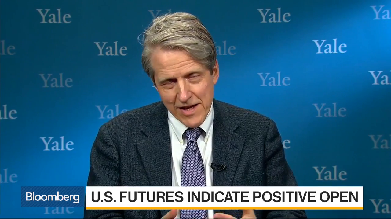 Yale's Robert Shiller Sees Room To Run For Trump Bump