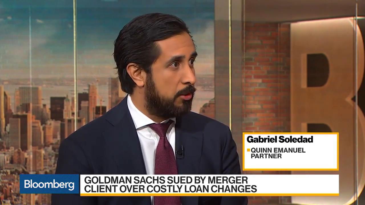 Goldman Sachs Faces Merger Client Lawsuit Over Loan Changes
