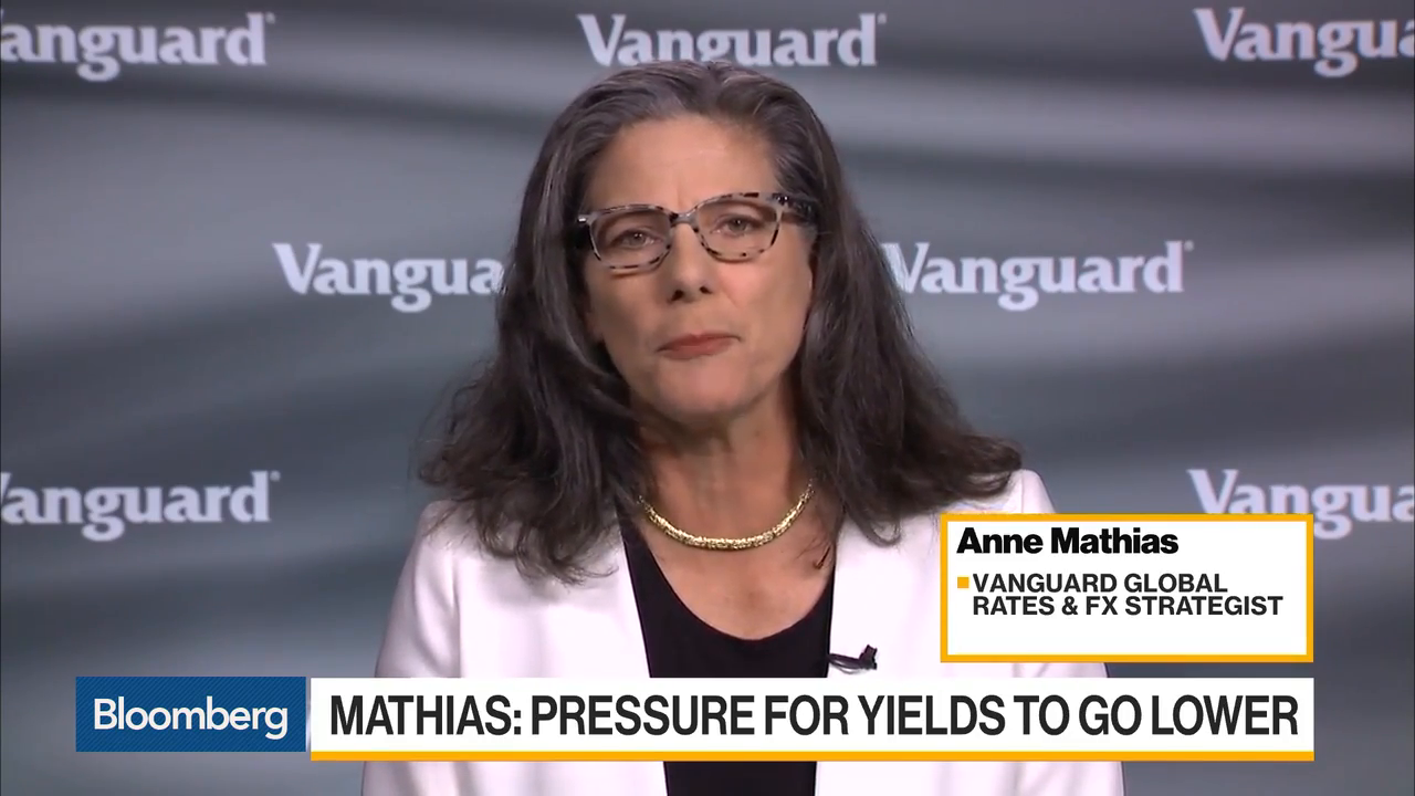 U.S. Yields Are Under Pressure To Go Lower, Vanguard's Mathias Says