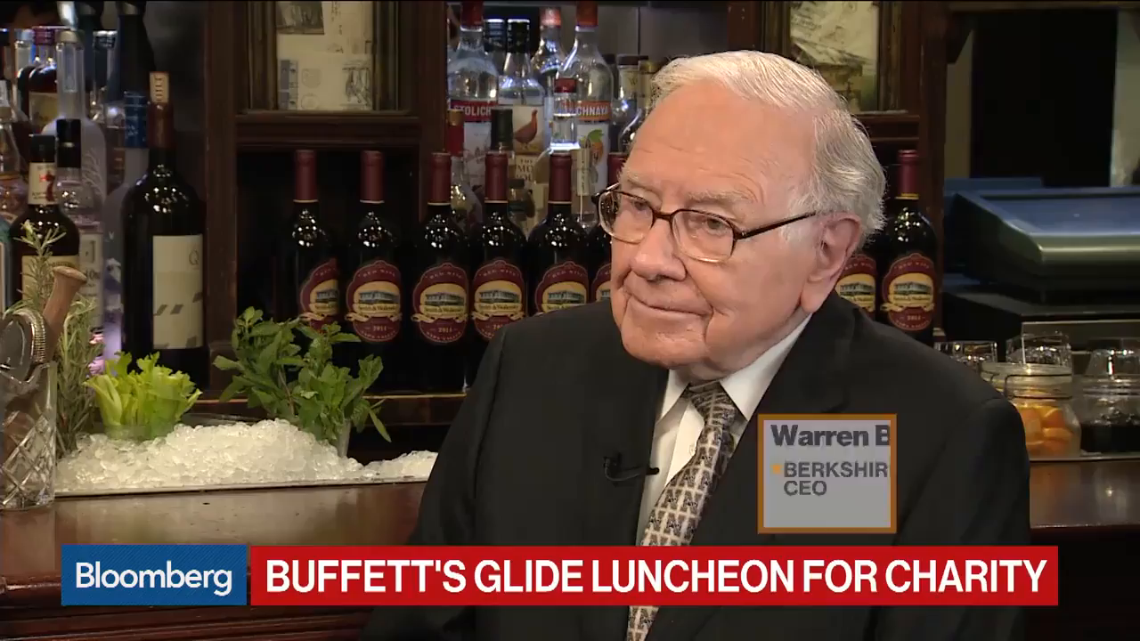Warren Buffett Says 'I'm Buying Stocks'
