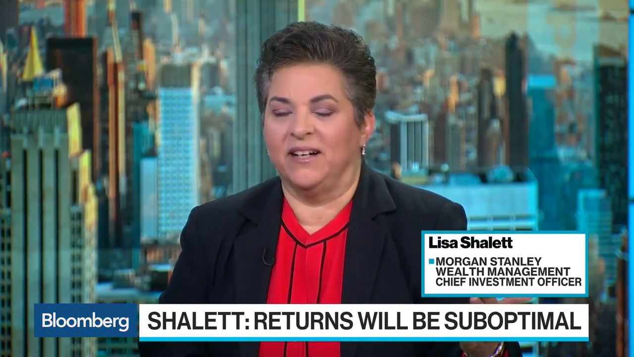Morgan Stanley's Shalett Expects Suboptimal Returns Next 3-5 Years
