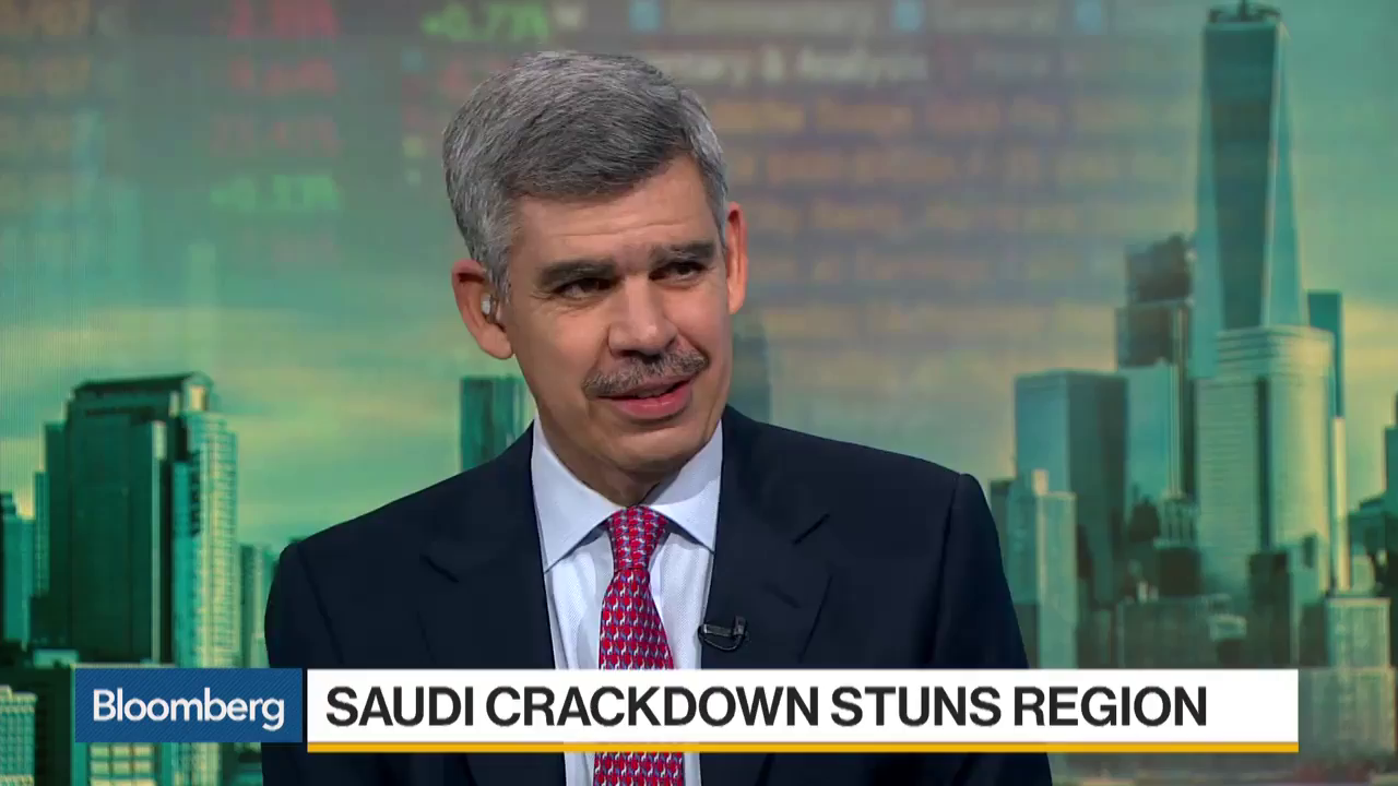 El-Erian Says Market Must Consider Saudi Crackdown