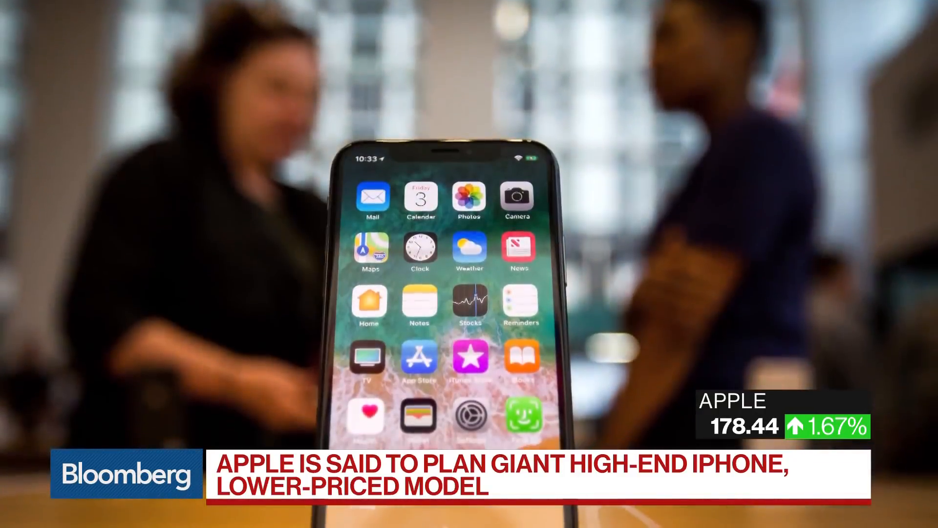 Apple Said To Plan Giant High-End IPhone