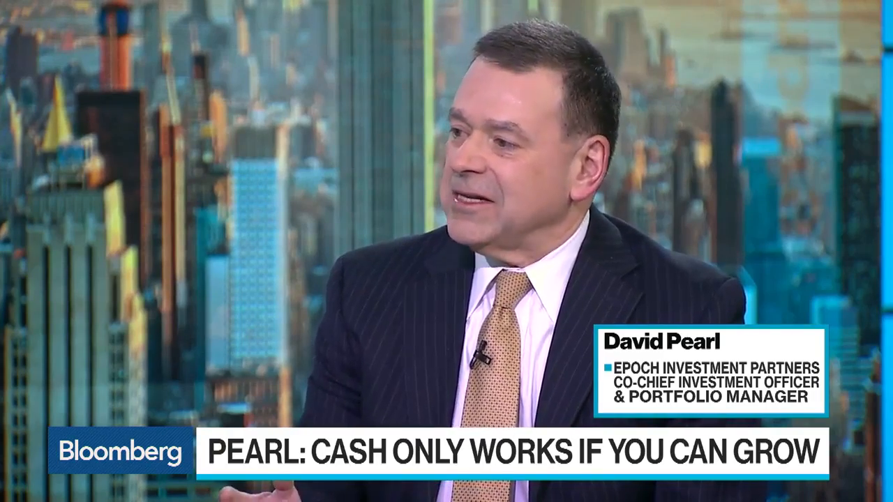 Epoch Investment's Pearl Says Growth Is Secret To Free Cash Flow